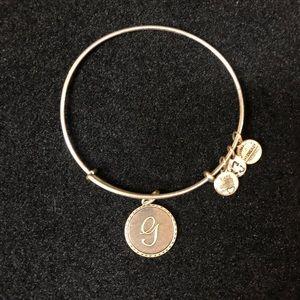 """Alex and Ani """"G"""" Bracelet"""
